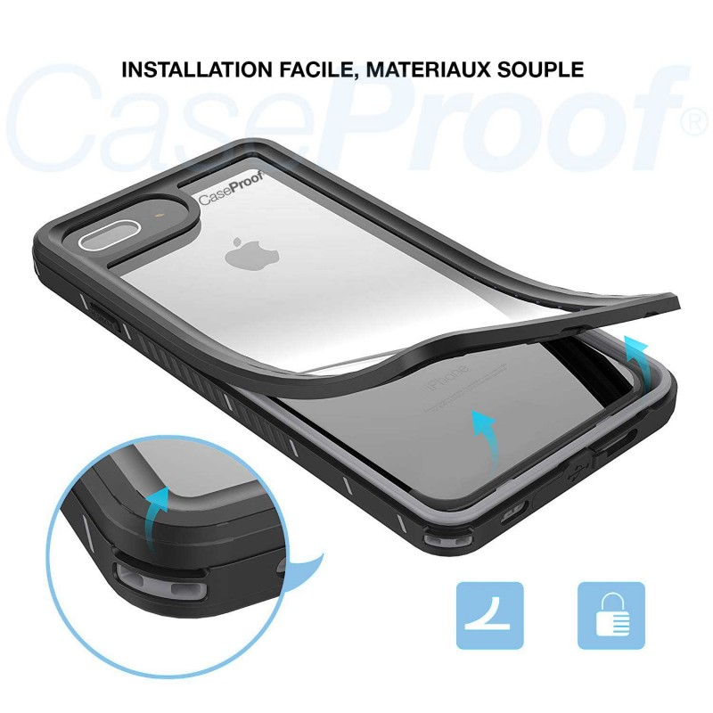 Waterproof & Shockproof case for iPhone 6/6s - 360° optimal protection