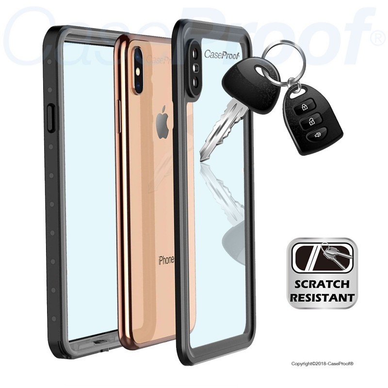 Waterproof & shockproof case for iPhone Xs Max - 360