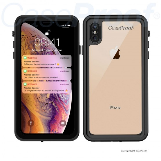 coque iphone xs max choc