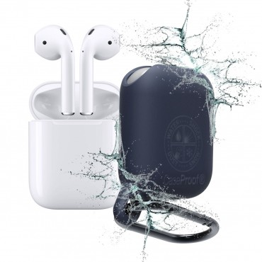 Airpods - Waterproof Case for Airpod - Navy Blue