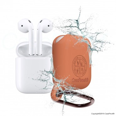 Airpods -Shocproof Waterproof Case Nectarine