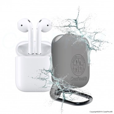 Airpods -Shockproof Waterproof Case Grey