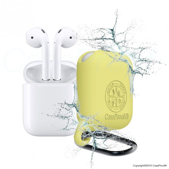 Airpod - Shockproof Waterproof Cover Yellow