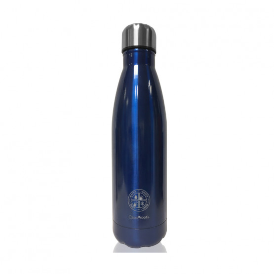 Insulated Bottle in Stainless steel 500 ml - Dark blue metal