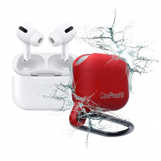 Airpods-Pro-Waterproof ShockProof Red Cover