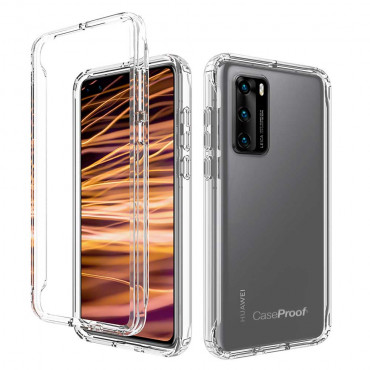 Xiaomi Redmi 9T Pro - ShockProof 360° Protection - Transparent
