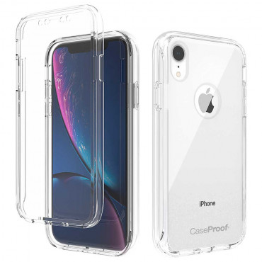 iPhone Xr - Protection 360° Anti-Choc Transparent