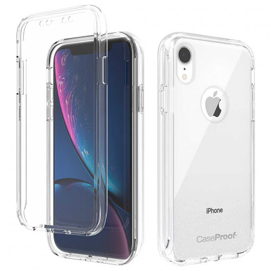 iPhone Xr - ShockProof 360° Transparent Protection