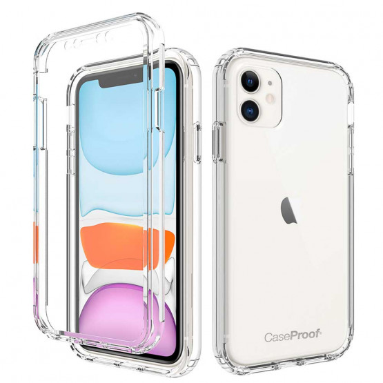 iPhone 11 - Protection 360° Anti-Choc Transparent
