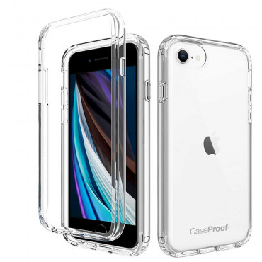 iPhone 7-8-SE-2020 - Protection 360° Anti-Choc Transparent