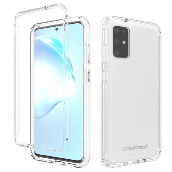 Samsung S 20 Plus - Protection 360° AntiChoc Transparent