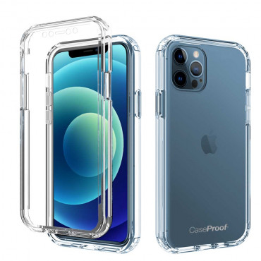 iPhone 12 Pro - Protection 360° AntiChoc - Transparent Série SHOCK
